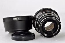 INDUSTAR 61 L/D 2. 8/55mm Soviet Lens + adapter Fujifilm USSR Vintage Photo Fuji