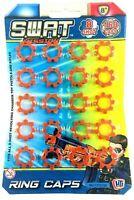Swat Ring Caps Cap Gun Caps Fits all 8 Shot Toy Cap Gun Toy 8 Shot Ring Caps 160
