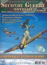 CHAMPS DE BATAILLE N° 9  SECONDE GUERRE MONDIALE ANGLETERRE - REVUE  MILITAIRE
