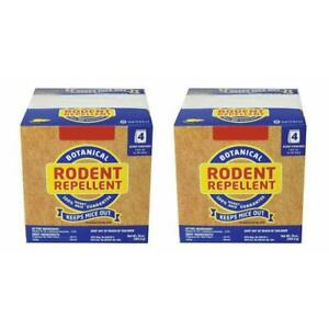 New Fresh Cab Botanical Rodent Repellent Mouse Mice - 2 Pack Boxes