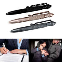 1 Pc Aluminum Self Defense Tactical Pen Glass Breaker Tool Military Combat