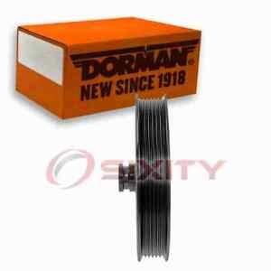 Dorman Power Steering Pump Pulley for 2011-2014 Chevrolet Cheyenne 5.3L 6.2L ro