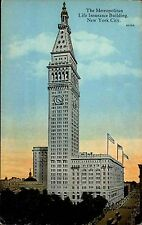 NEW YORK CITY AMERICA AMERICA ~ 1920/30 Metropolitan Life Insurance Building Torre