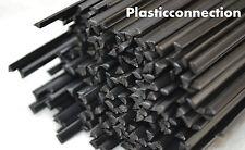 PP/PE plastique baguettes de soudage (4mm) noir, 20 pièces /triangulaire forme
