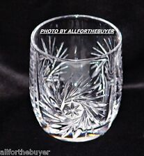 GORHAM ASTRA HEAVY LEAD CRYSTAL OLD FASHIONED GLASS 3.5 INCHES TALL