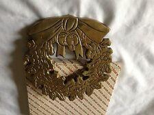 brass wreath trivet lillian vernon