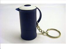 Tupperware Keychain Keyring Thermos Navy Bleu NEW Nr 79