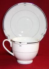 T. Limoges   Casa Lorren 53 & 54 Porcelain Teacup  Cup and Saucer Set  Pristine!
