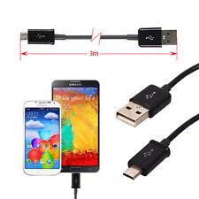 Cavo dati sincronia 3m 3 Metri ricarica per Samsung Galaxy Note 3 III Neo N7505