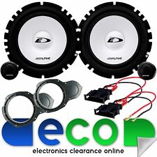 "VW Passat B6 ALPINE 560 Watts 17cm 6.5""  Front Door Component Car Speakers Kit"