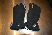 Ladies unisex Sealskinz 100% waterproof breathable Entry riding gloves Black M