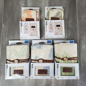Nintendo DS Lite Case Pouch Floral Palm Trees Tropical Fashion Sleeve Organizer
