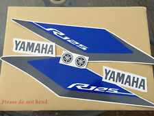 YZF R125 2015-16 Fairing Decal Stickers Quality aftermarket Vinyl. Choose colour