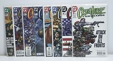 Creature Commandos- COMPLETE Series #1-8- CR56