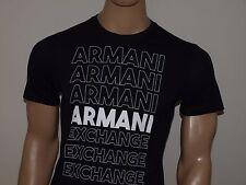 Armani Exchange Authentic AX Stamp Logo T Shirt Navy Regular 2xl Navy