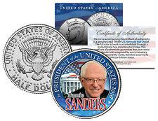 BERNIE SANDERS FOR PRESIDENT 2016 - JFK Half Dollar US Coin Political CAMPAIGN