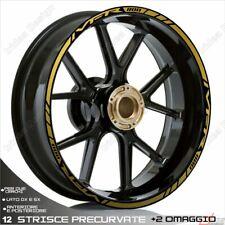 Trims Wheel Stickers Sport Honda VFR 750 800 1200 Gold