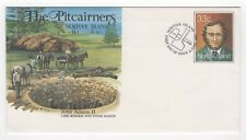 1985 NORFOLK ISLAND First Day Cover PITCAIRNERS JOHN ADAMS II Stationery