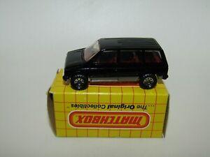 Matchbox Superfast No 64 Dodge Caravan England Base Black NMIB