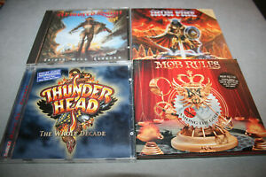 CD Sammlung - MOB RULES/ARMORED SAINT/THUNDER HEAD/IRON FIRE - 4 CD - Sammlung!