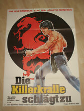 The Killer Claw proposes to cinema poster a1-Meng Fei Tan Tao-liang Eastern