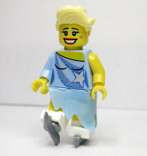 Ice Skater Series 4 Skirt Ice Skates Female LEGO Minifigure Mini Figure Fig