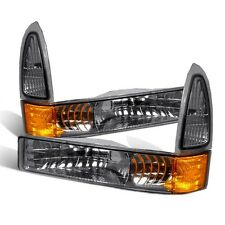 CG Ford Excursion 00-05/Super Duty 99-04 Front Bumper Light Smoke Pair
