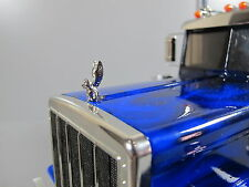 "Front Hood Grill Ornament emblem Angel Pig ""TOY"" Tamiya 1/14 Knight King Hauler"