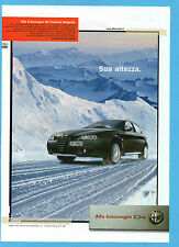 BELLEU004-PUBBLICITA'/ADVERTISING-2004- ALFA CROSSWAGON Q4 TRAZIONE INTEGRALE