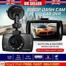 "1080p HD Dash Cam 2.4"" LCD Car DVR Camera G Sensor Dashboard Night Vision"