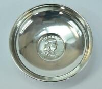 Schale Silber mit Münze half Dollar 1955 USA  925 Sterling Silber silver