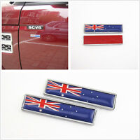 One Pair 3D Australian Flag Logo Car SUV Fender Fuel Tank Cap Sticker For Holden