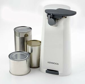 Kenwood Electric Can Tin Bottle Opener Knife Sharpner 3-in-1, CAP70.A0 WH CO600
