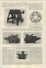 1924 Matthew Wylie Boring Printing Machine Log Cutting Drummond Saw