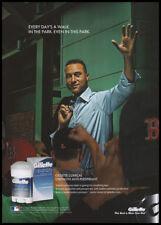 Derek Jeter 1-page clipping 2009 ad for Gillette