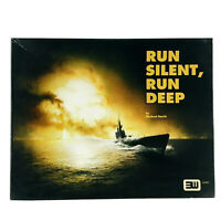 3W War Game Boxed Run Silent, Run Deep VG+ UNPUNCHED Complete