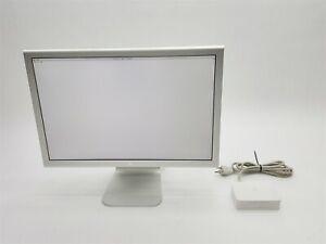 "Apple Cinema Display 20"" Widescreen LCD Monitor 1980x1050 A1081 A1096 M9177LL/A"