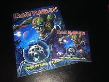 Iron Maiden - The Final Frontier Greek Press w A4 Book Greece RARE