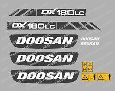DOOSAN DX180LC DIGGER DECAL STICKER SET
