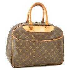 LOUIS VUITTON Monogram Deauville Hand Bag M47270 LV Auth cr199