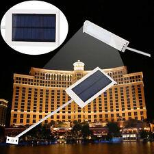 15W LED Solar Power Thin Waterproof Garden Wall Outdoor Street bright Light Lamp