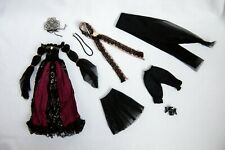 Pullip Doll Elisabeth Vampire Goth Full Stock Outfit Clothes Unused 1/6 BJD