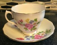 Royal Vale Pink Rose Bone China Tea Cup And Saucer England