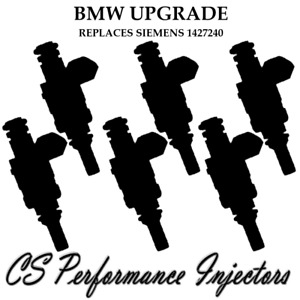 #1 OEM Siemens UPGRADE Fuel Injectors (6) set for 1999-2006 BMW 2.5L 2.8L I6