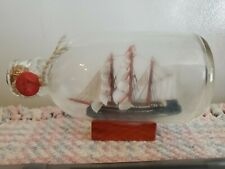 SAILING SHIP IN A BOTTLE