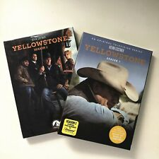 Yellowstone Season 1-2 TV Series Complete First Second (DVD,8 Disc Set) Region 1