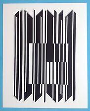 Victor VASARELY VIII Offset Originale 1973 Op Art Optique Cinétique 44ans