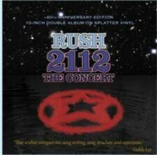 """Rush - 2112 The Concert - SPLATTER VINYL 10"""" X 2"""