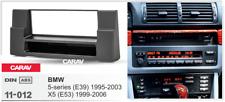 Car Stereo Radio Fascia Panel 1 Din Frame Kit for BMW 5-Series (E39);X5 (E53)