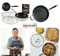 """Copper Chef Titan Pan by Jet Tila 11"""" Copper Chef Titan Pan with Lid And Set"""